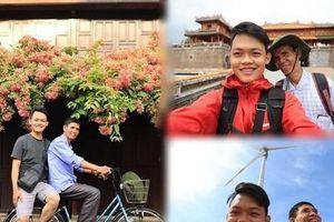 Hành trình xuyên Việt xúc động của chàng thanh niên 9x cùng 'bạn của ông nội'