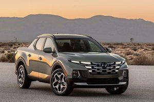 Bán tải Hyundai Santa Cruz bắt đầu nhận đặt hàng