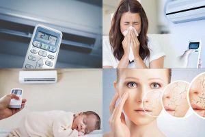 7 tác hại của việc nằm điều hòa đối với sức khỏe