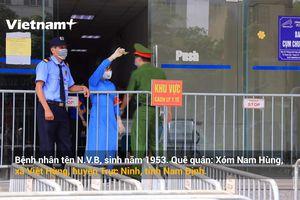 Phong tỏa chung cư Đại Thanh do phát hiện ca dương tính với SARS-CoV-2