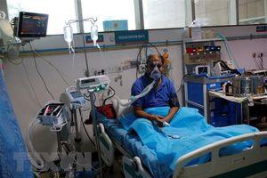 Số ca mắc mới COVID-19 tại Ấn Độ giảm đáng kể trong 24 giờ qua