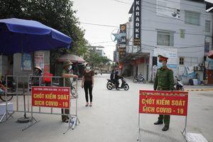 Bắc Giang tăng cường chốt kiểm dịch tại huyện Việt Yên