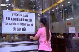 Hà Nội: Các quán bia chấp hành lệnh tạm dừng để phòng chống dịch