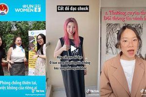 TikTok hợp tác với Tổng cục Phòng chống thiên tai và UNWomen khởi động hashtag challenge #Phongchongthientai