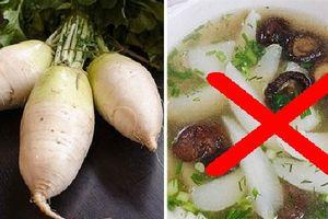 7 điều đại kỵ khi ăn củ cải, tránh phạm kẻo suy tuyến giáp, bướu cổ như chơi