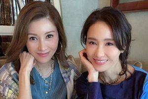 Lê Tư đẹp lấn át 'Hoa hậu đẹp nhất Hong Kong' Lý Gia Hân và Trương Bá Chi khi chung khung hình