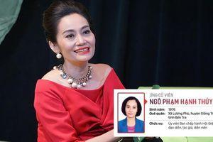 Nữ diễn viên ứng cử Đại biểu HĐND TPHCM là ai?