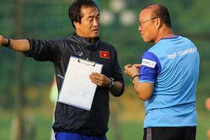 HLV Park và đội tuyển Việt Nam nhận tin cực vui tại vòng loại World Cup