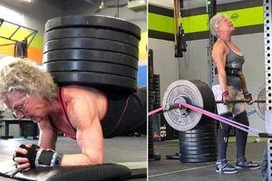 Người phụ nữ 71 tuổi với niềm đam mê nâng tạ ở tuổi xế chiều