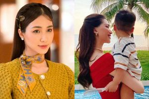 Hòa Minzy thử dạy con sai, quý tử nhà giàu 'chỉnh' mẹ liên tục dù mới hơn 1 tuổi
