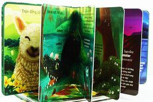 Bộ sách đặc biệt giúp trẻ cảm nhận chân thật bằng xúc giác