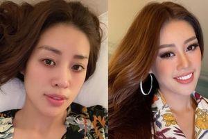 Bất ngờ với mặt mộc của Khánh Vân và các thí sinh ''Miss Universe''