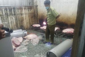 Bình Phước: Ngăn chặn kịp thời 664kg thịt lợn không qua kiểm dịch