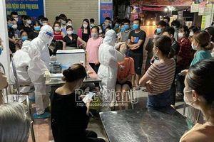 Đến trưa 11/5, Bắc Giang ghi nhận 64 ca mắc Covid-19