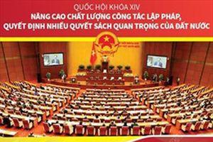 Quốc hội khóa XIV: Nâng cao chất lượng công tác lập pháp, quyết định nhiều quyết sách quan trọng của đất nước