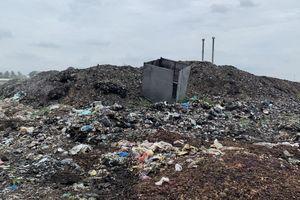 Bãi rác ngưng hoạt động vẫn gây ô nhiễm môi trường nghiêm trọng