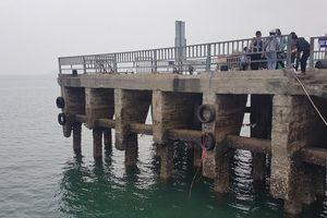 Huyện Cô Tô (Quảng Ninh): Cần sửa chữa ngay cầu cảng cho tàu thuyền cập bến