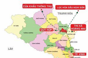 Cơ sở hạ tầng đồng bộ tạo thế và lực cho thị xã Thái Hòa giai đoạn 2021-2026