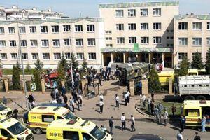 Nga: Thanh niên 19 tuổi xông vào trường học bắn chết 7 trẻ em