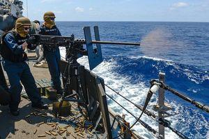 Mỹ công bố video vụ bắn cảnh cáo tàu Iran