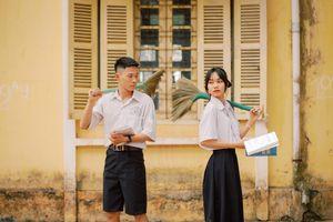Ảnh kỷ yếu phong cách Việt - Thái của học sinh Bắc Giang