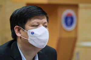 Bộ trưởng Y tế: 'Chúng ta không được phép chậm trễ, ngơi tay'