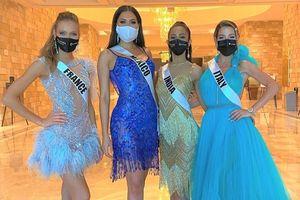 Ba thí sinh cao nhất Hoa hậu Hoàn vũ 2020