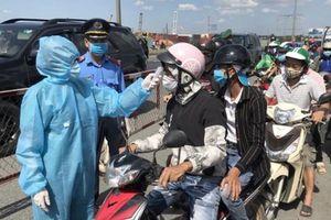 TP Hồ Chí Minh: Lập chốt kiểm soát chống dịch ở mọi cửa ngõ từ 0 giờ ngày 15/5