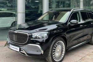 Cận cảnh Mercedes-Maybach GLS 600 có giá khoảng 17 tỷ đồng tại Hà Nội