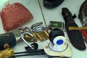 Triệt xóa nhóm đối tượng gây ra 19 vụ trộm, cướp tài sản