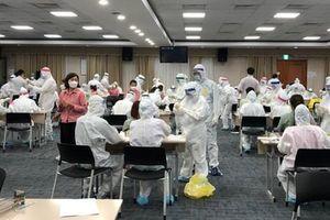 2 công nhân Samsung dương tính SARS-CoV2, thần tốc truy vết, xét nghiệm trong đêm