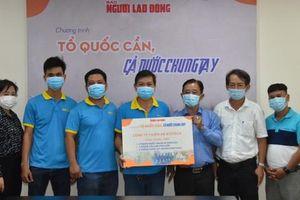 Công ty Thiên An Biotech đóng góp Chương trình 'Tổ quốc cần, cả nước chung tay'