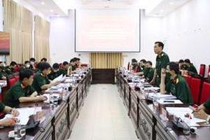 Bàn giao đào tạo nhân viên ngành Hậu cần quân đội