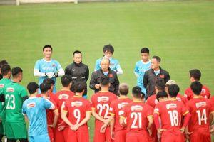 Việt Nam đá giao hữu với Jordan trước thềm vòng loại World Cup