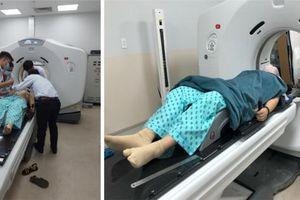 Khu xạ trị trong ngày Bệnh viện Ung bướu cơ sở 2 chính thức đi vào hoạt động