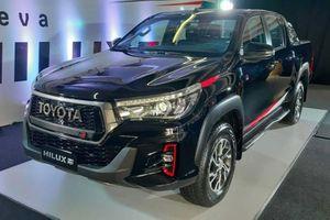 Toyota Hilux GR Sport 2021 rục rịch ra mắt trong năm nay