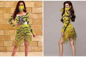 Khánh Vân diện trang phục ruộng bậc thang ở Miss Universe 2020