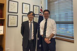 Việt Nam-Australia nhất trí phối hợp đẩy mạnh hợp tác, mở rộng thị trường cho sản phẩm nông nghiệp