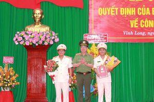 Bổ nhiệm Tân Giám đốc Công an tỉnh Vĩnh Long