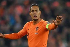 Ngôi sao Van Dijk rút khỏi EURO 2020, tuyển Hà Lan khốn đốn