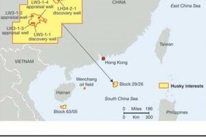 Trung Quốc bắt đầu khai thác khí ở Biển Đông
