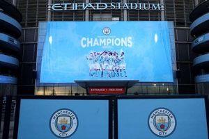 Man City vô địch Premier League
