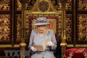 Nữ hoàng Anh Elizabeth II có bài phát biểu quan trọng trước Quốc hội
