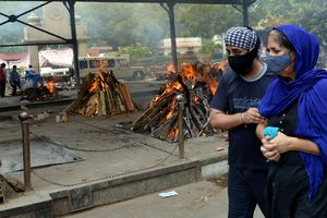 Dịch COVID-19: Ấn Độ ghi nhận số ca tử vong vượt 250.000 người
