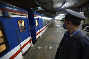 Đường sắt Bắc - Nam chỉ còn chạy hai đôi tàu Thống nhất từ ngày 14/5