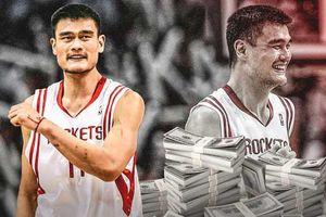 Huyền thoại bóng rổ Yao Ming sở hữu khối tài sản 300 triệu USD
