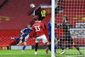Kết quả MU 1-2 Leicester: Bầy cáo giúp Man City vô địch