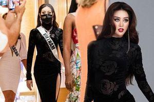 Khánh Vân bất ngờ ghi điểm tuyệt đối với bộ cánh gây tranh cãi, visual nổi bần bật giữa 'rừng' mỹ nhân Miss Universe