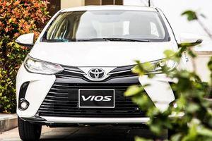 Toyota Việt Nam ưu đãi hấp dẫn cho khách hàng mua xe Vios