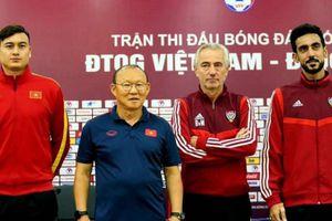 Vì điều này, HLV UAE 'ngán' nhất đội tuyển Việt Nam tại vòng loại World Cup